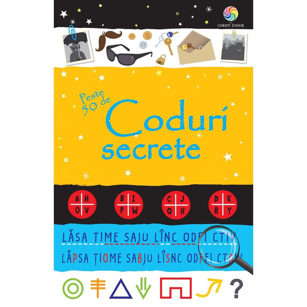 Carte Editura Corint, Peste 50 de coduri secrete, Emily Bone