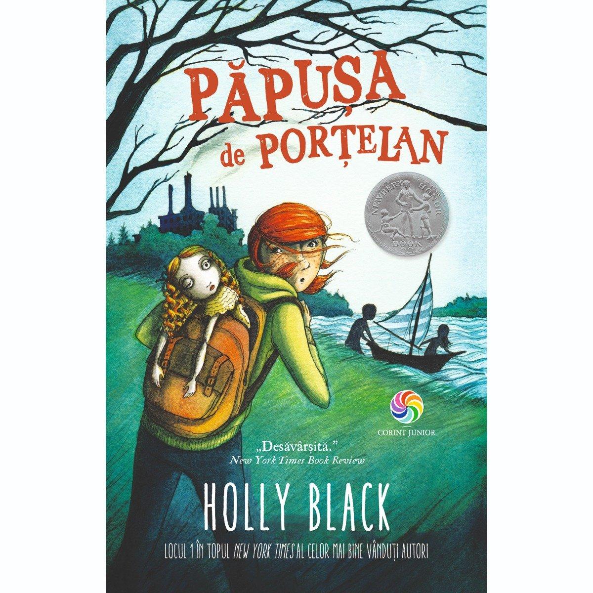 Carte Editura Corint, Papusa de portelan, Holly Black
