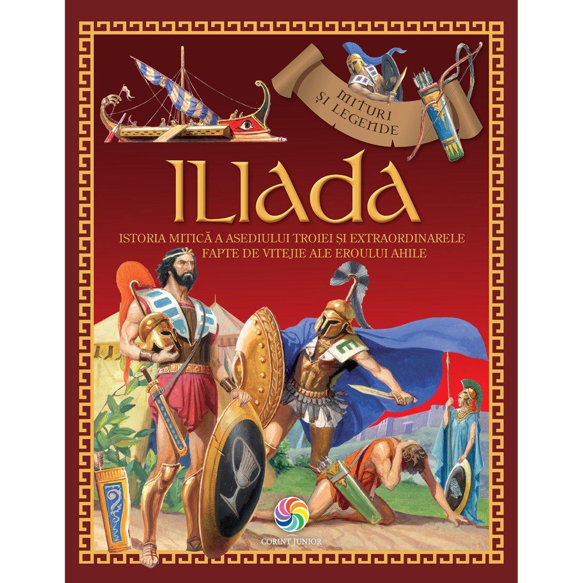 Carte Editura Corint, Iliada, Homer