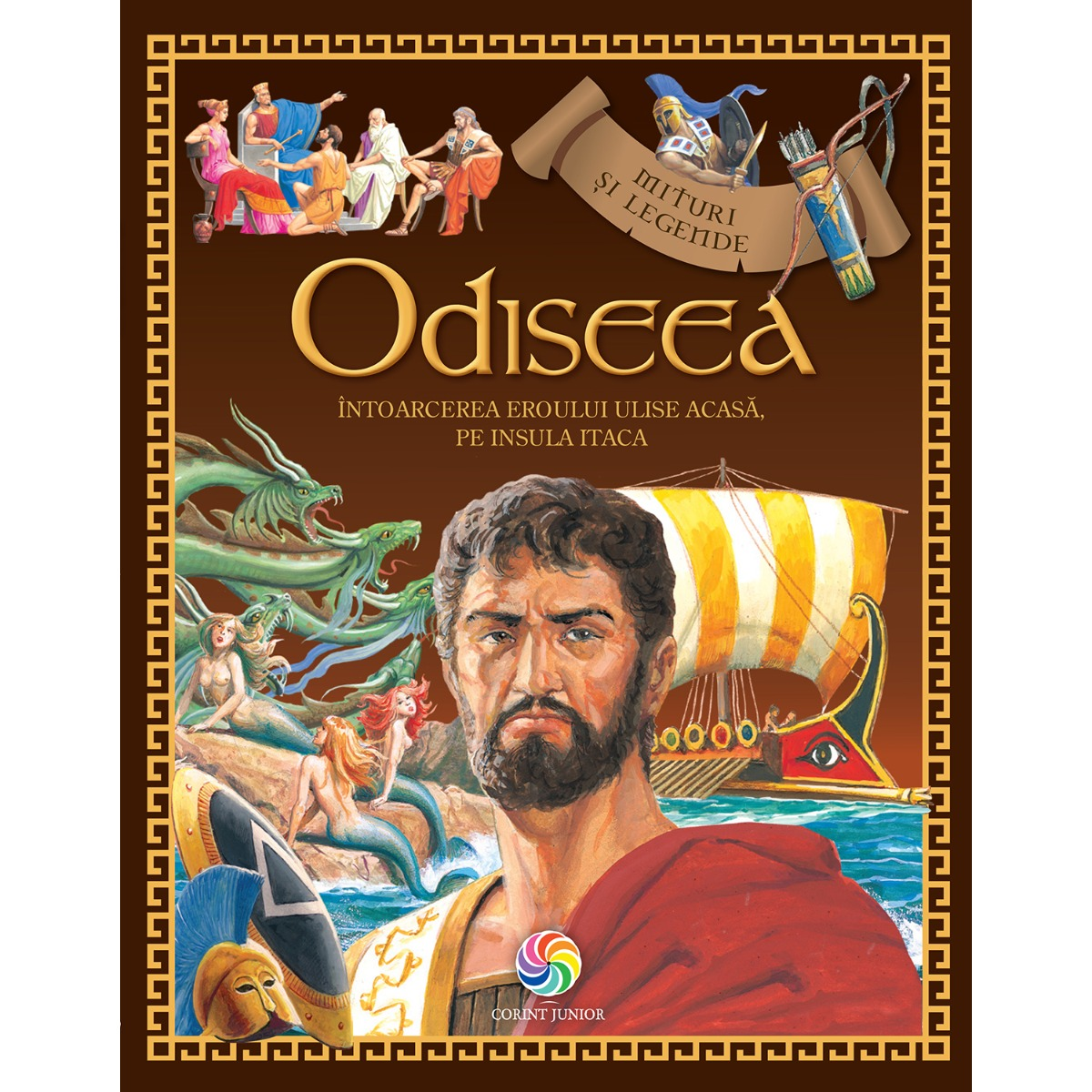 Carte Editura Corint, Odiseea, Homer