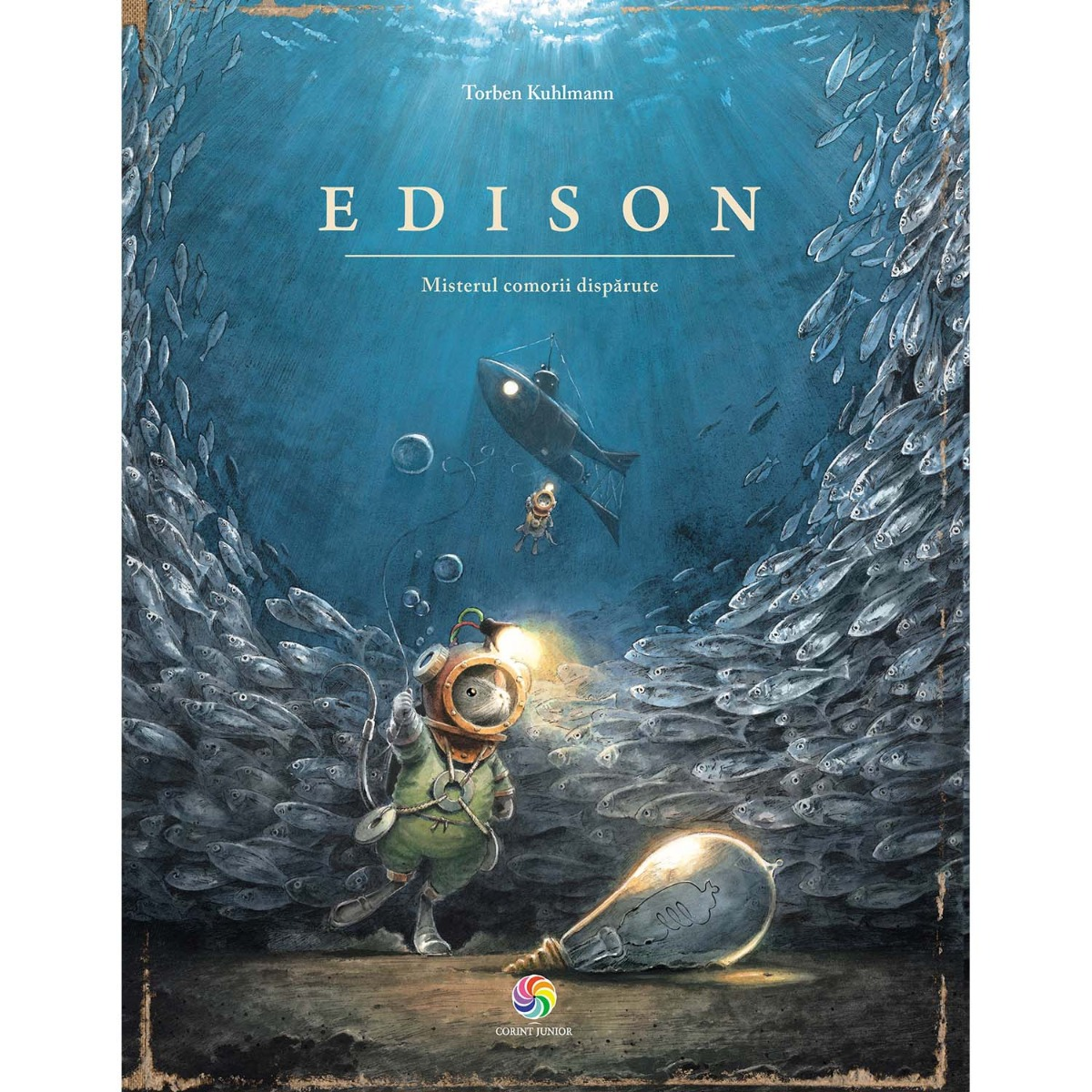 Carte Editura Corint, Edison, misterul comorii disparute, Torben Kuhlmann