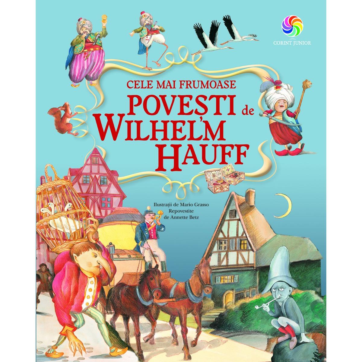 Carte Editura Corint, Cele mai frumoase povesti de Wilhelm Hauff