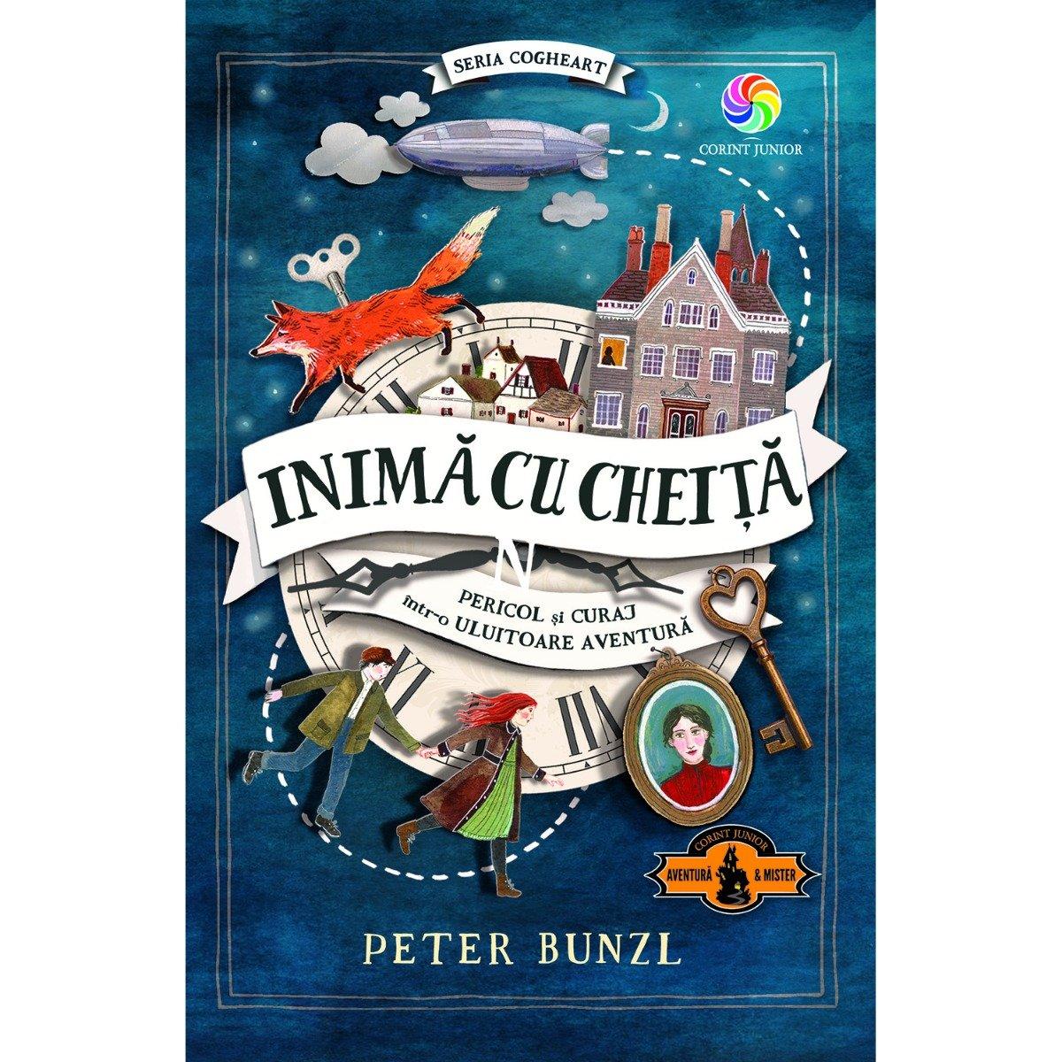 Carte Editura Corint, Cogheart vol. 1 Inima cu cheita, Peter Bunzl imagine 2021