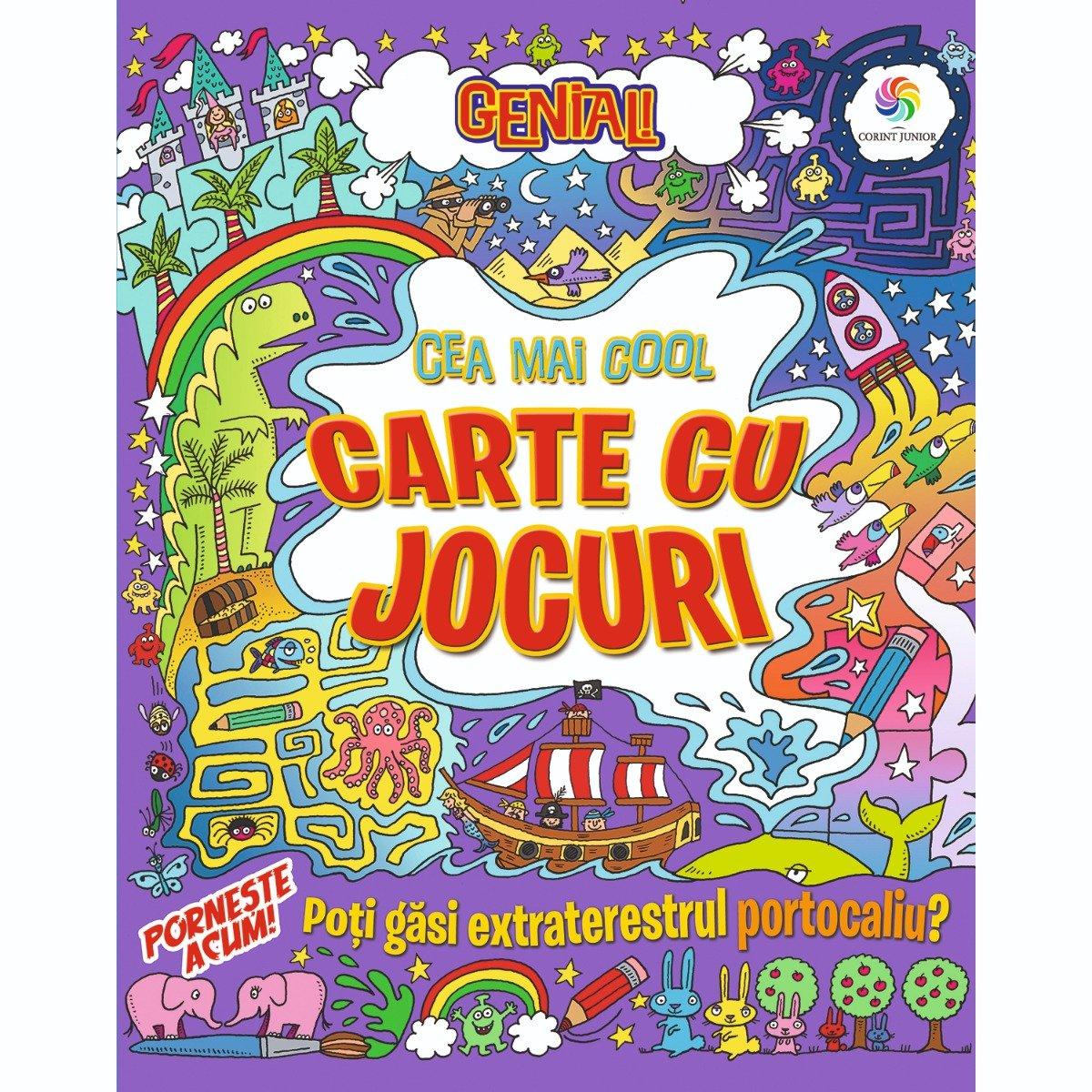 Carte Editura Corint, Genial! Cea mai cool carte cu jocuri, Lisa Regan