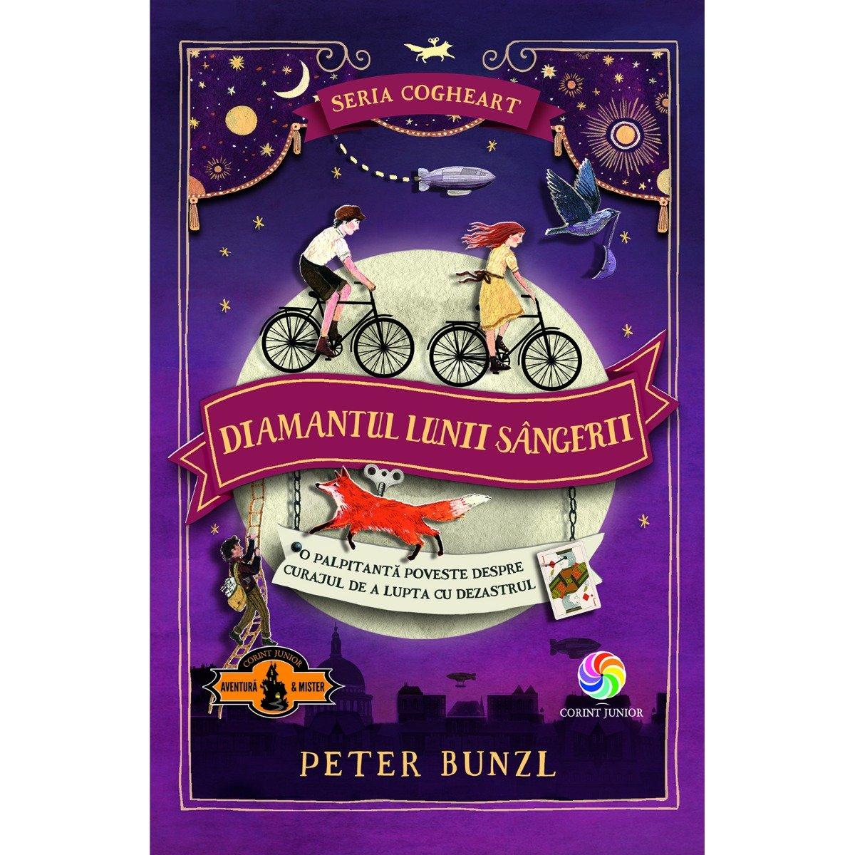 Carte Editura Corint, Cogheart vol.II Diamantul lunii sangerii, Peter Bunzl