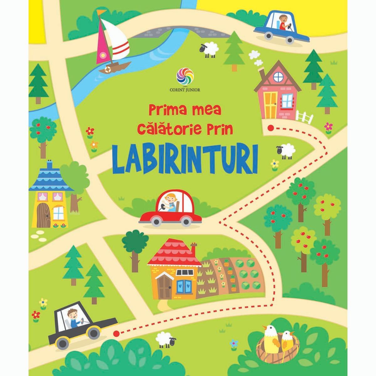 Carte Editura Corint, Prima mea calatorie prin labirinturi, Kirsteen Robson