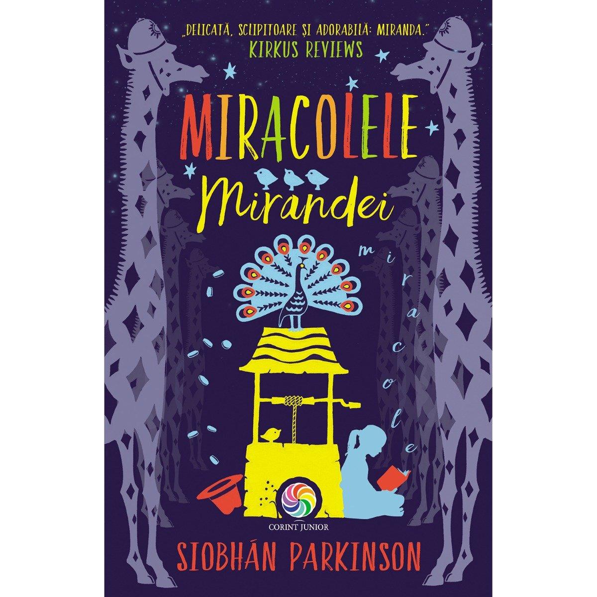 Carte Editura Corint, Miracolele Mirandei, Siobhan Parkinson