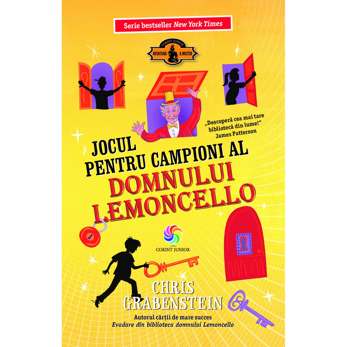Carte Editura Corint, Lemoncello vol. 4 Jocul pentru campioni al domnului Lemoncello, Chris Grabenstein