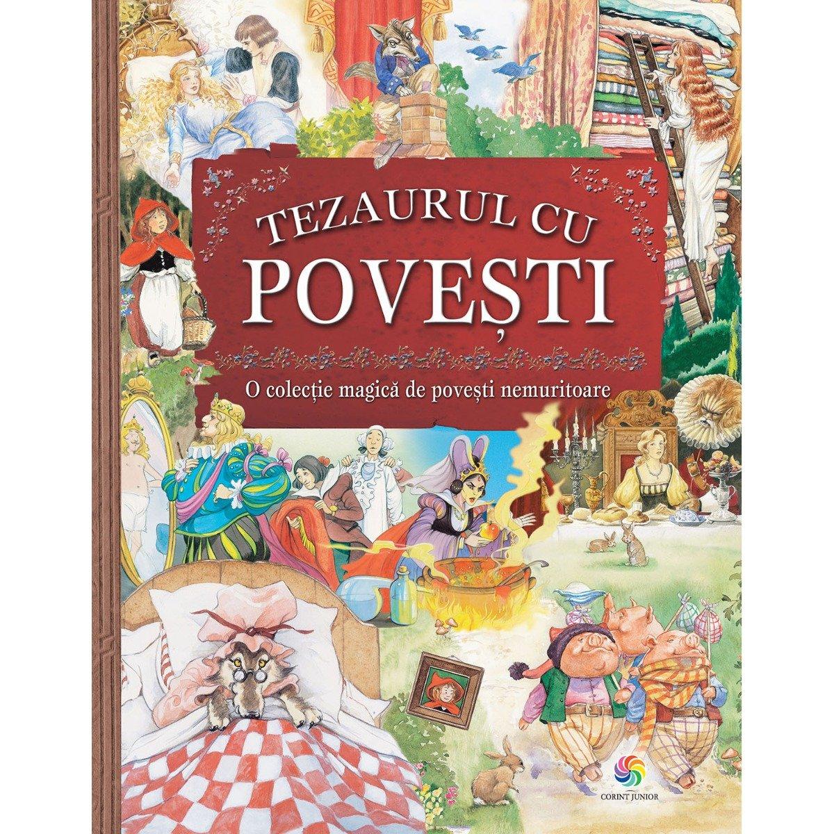 Carte Editura Corint, Tezaurul cu povesti ed.II