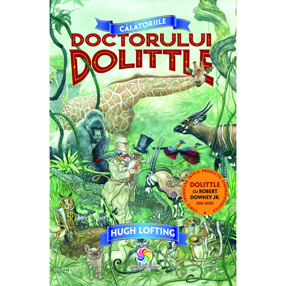 Carte Editura Corint, Calatoriile doctorului Dolittle, Hugh Lofting