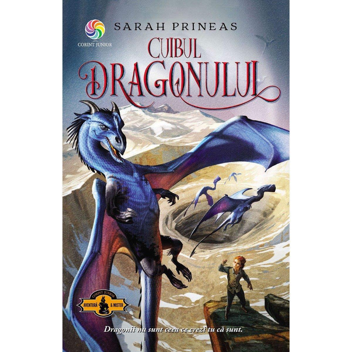 Carte Editura Corint, Cuibul dragonului, Sarah Prineas