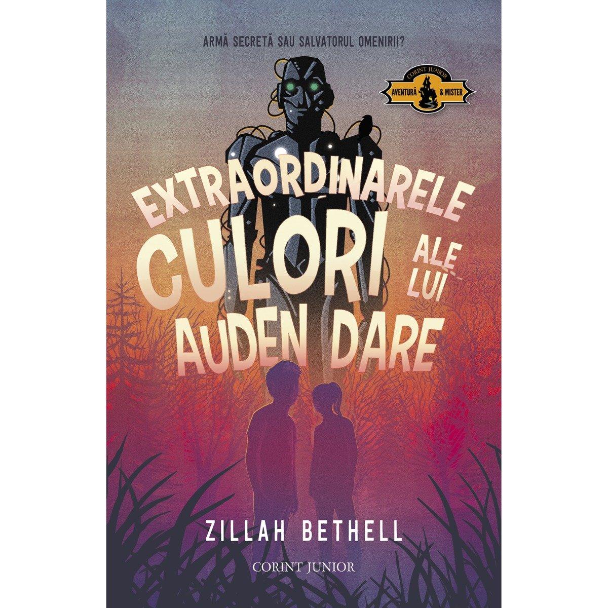 Extraordinarele culori ale lui Auden Dare, Zillah Bethell