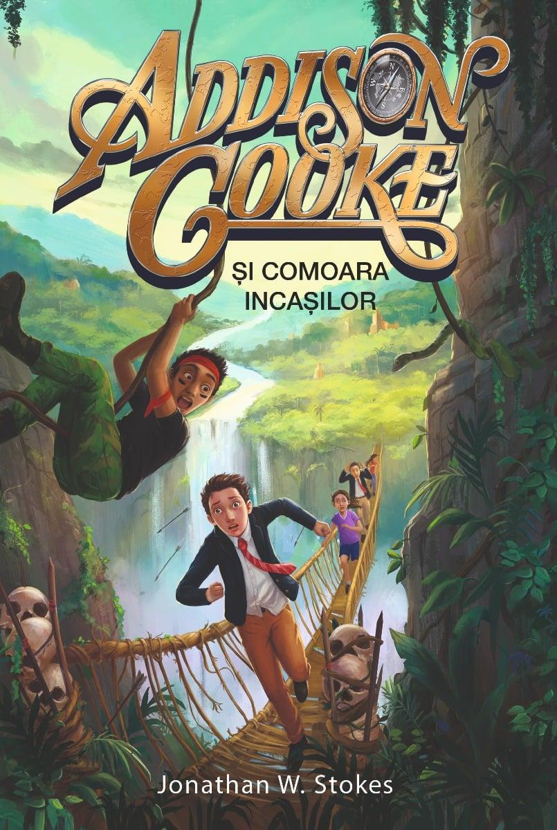 Addison Cooke si Comoaraincasilor, Vol.1, editie 2021
