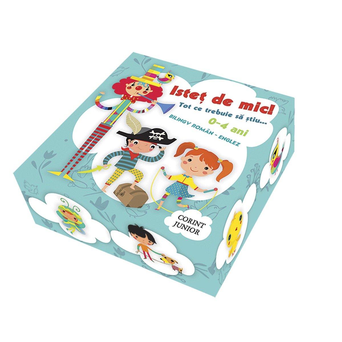 Carte Editura Corint, Cutie istet de mic! Tot ce trebuie sa stiu… bilingv roman-englez, 5 carti