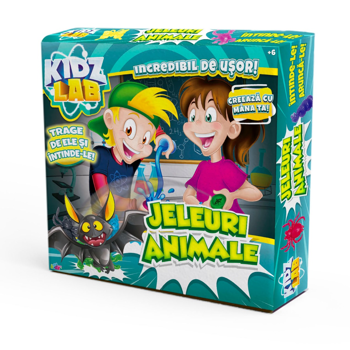Set de creatie Kidz Lab, Jeleuri Animale