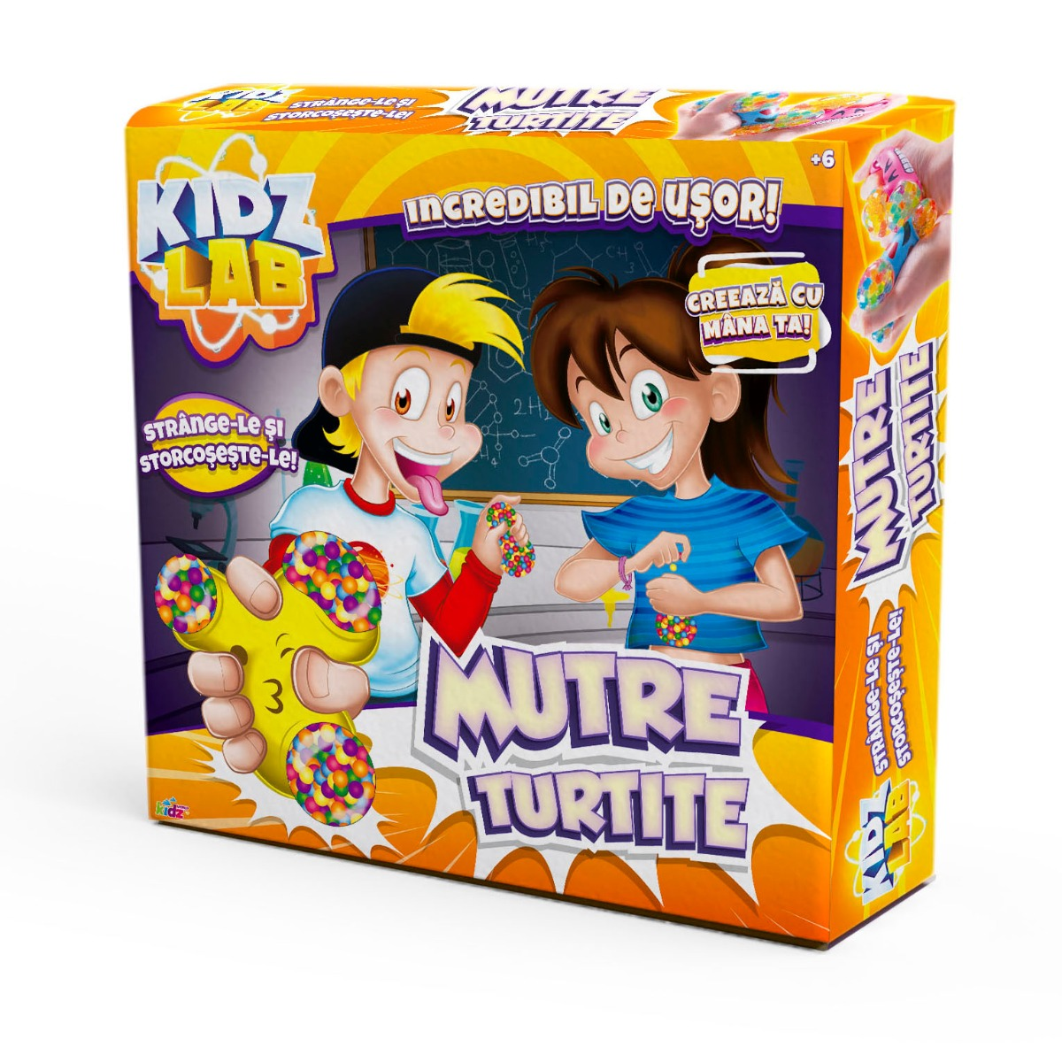 Set de creatie Kidz Lab, Mutre Turtite