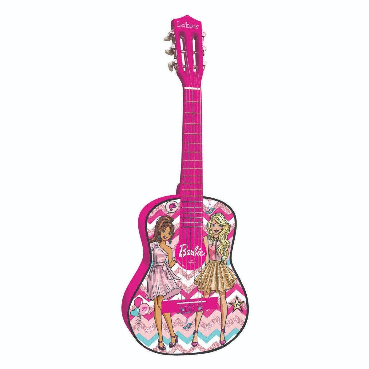Chitara acustica de lemn Rock's Royals Barbie, 78 cm