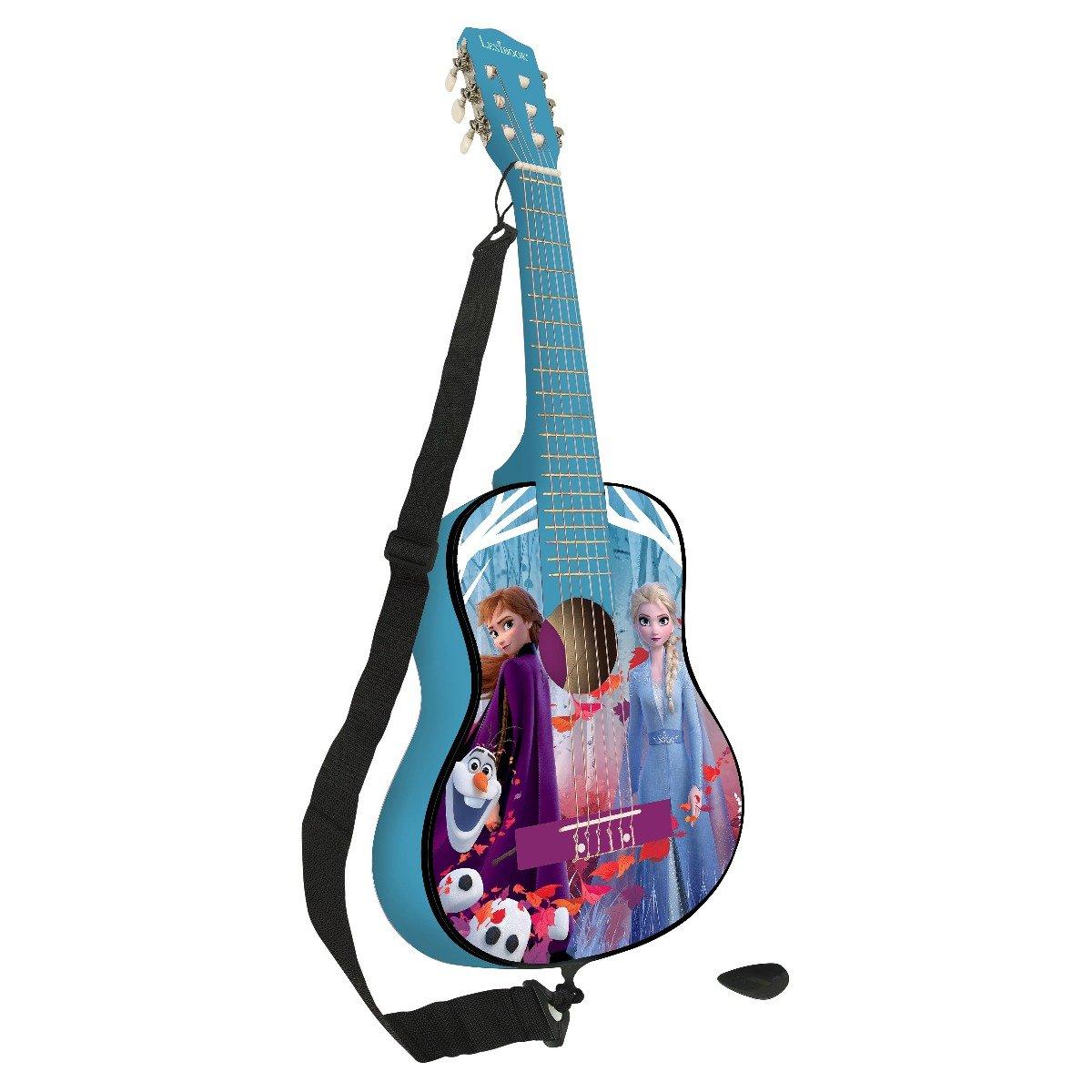Chitara acustica de lemn Disney Frozen 2, 78 cm