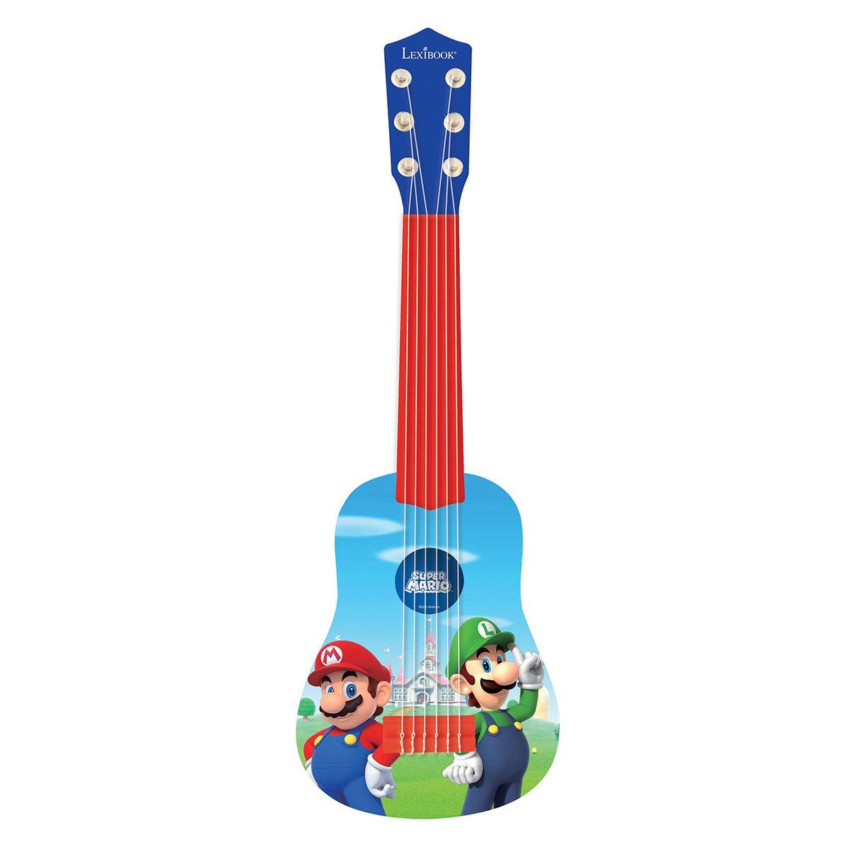 Prima mea chitara Lexibook, Super Mario, 53 cm