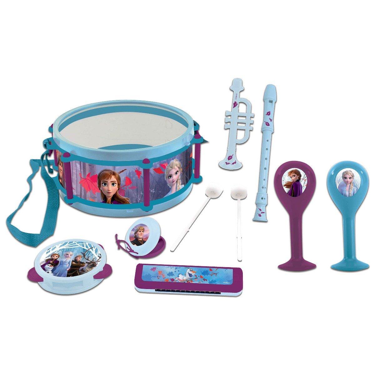 Set muzical cu 7 instrumente Disney Frozen 2
