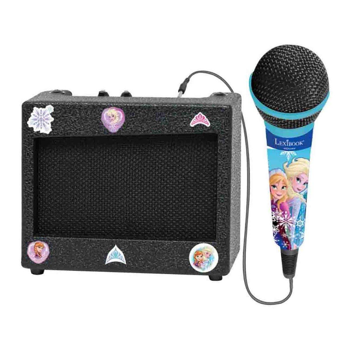 Karaoke portabil cu amplificator si microfon, Disney Frozen 2