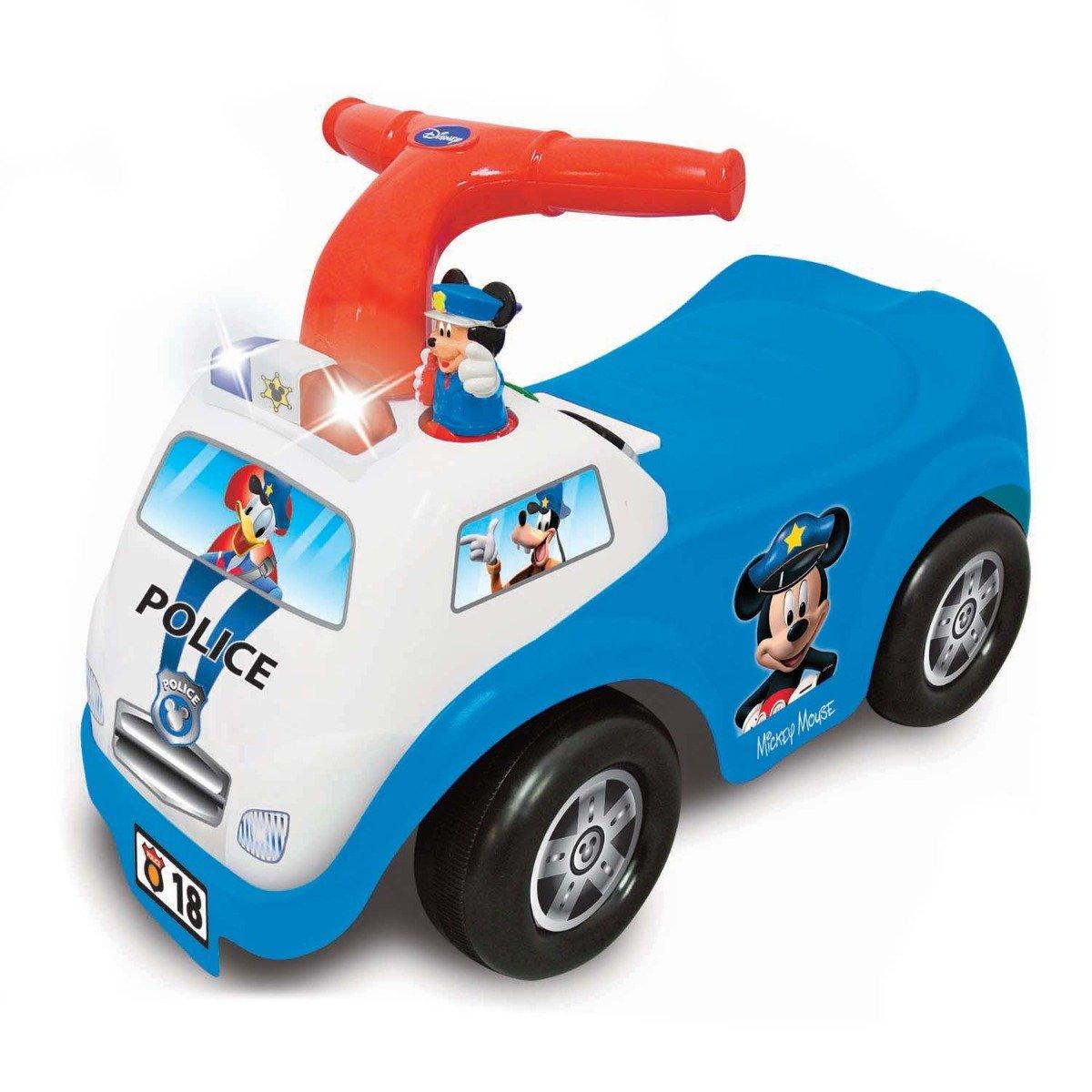 Prima mea masina de politie fara pedale Kiddieland, Mickey Mouse imagine