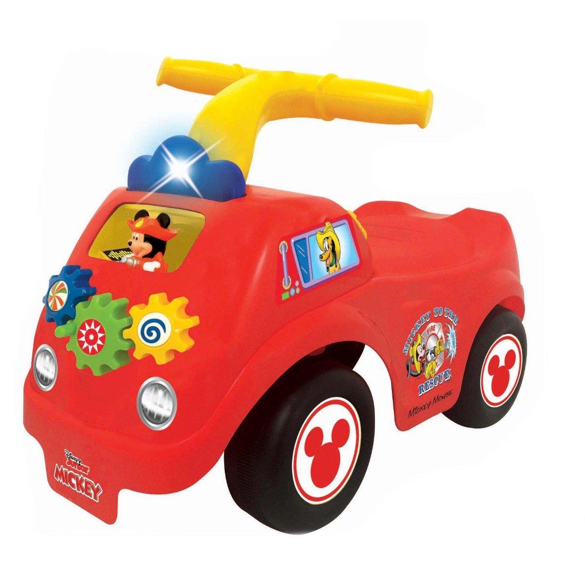 Prima mea masina de pompieri fara pedale Kiddieland, Mickey Mouse imagine
