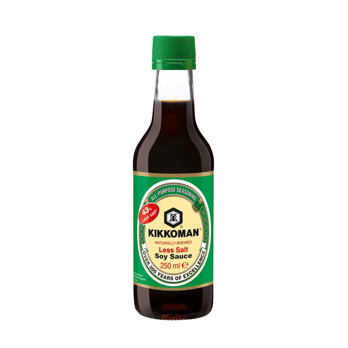 Sos soia putin sarat Kikkoman, 250 ml imagine