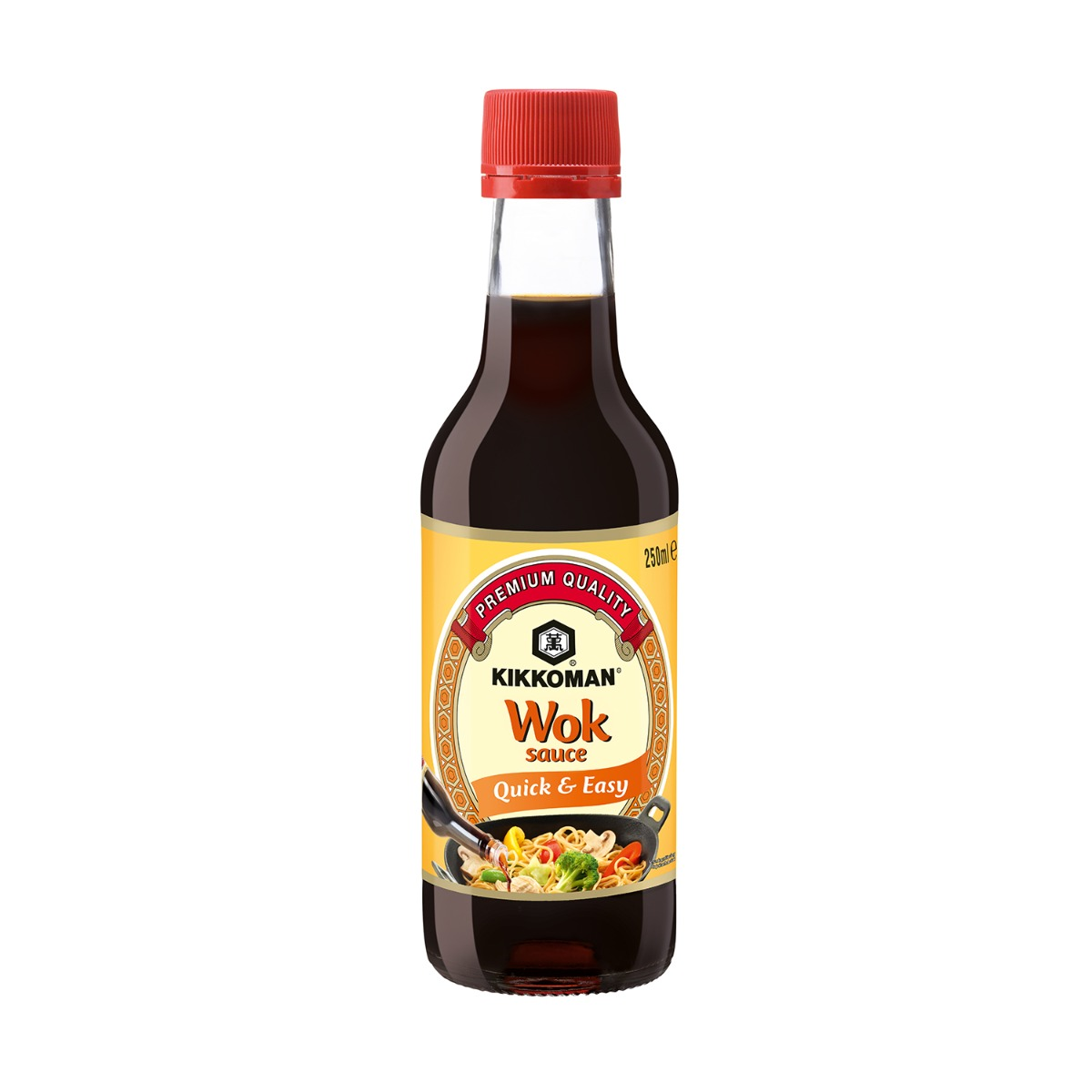 Sos soia Wok Kikkoman, 250 ml imagine