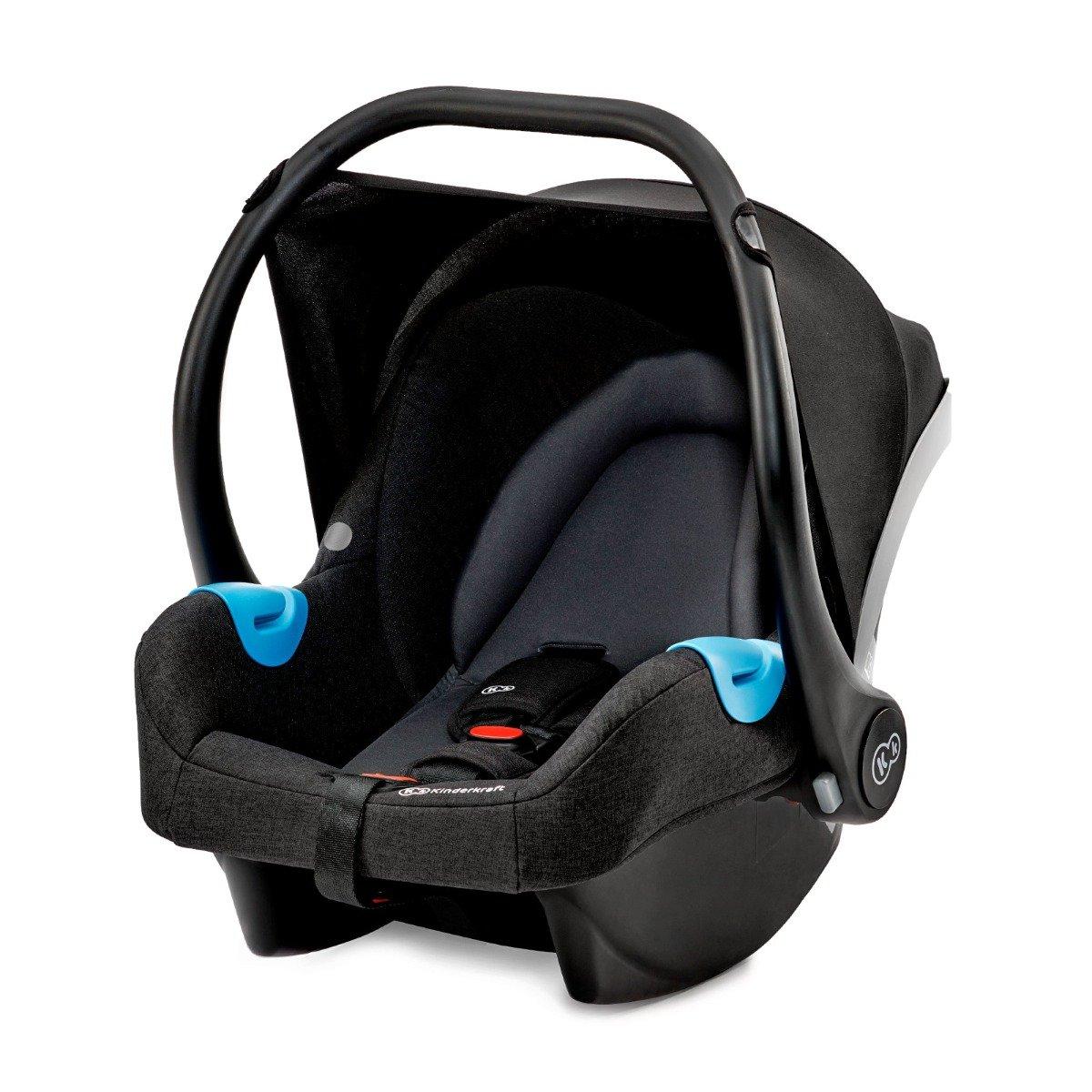Scoica auto Kinderkraft Mink, 0 - 13 Kg, Negru imagine 2021