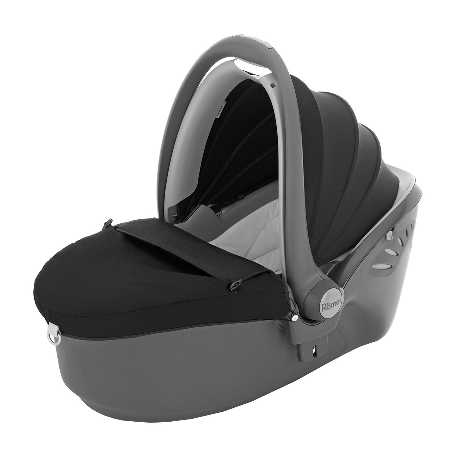 landou britax - romer baby-safe sleeper - black thunder