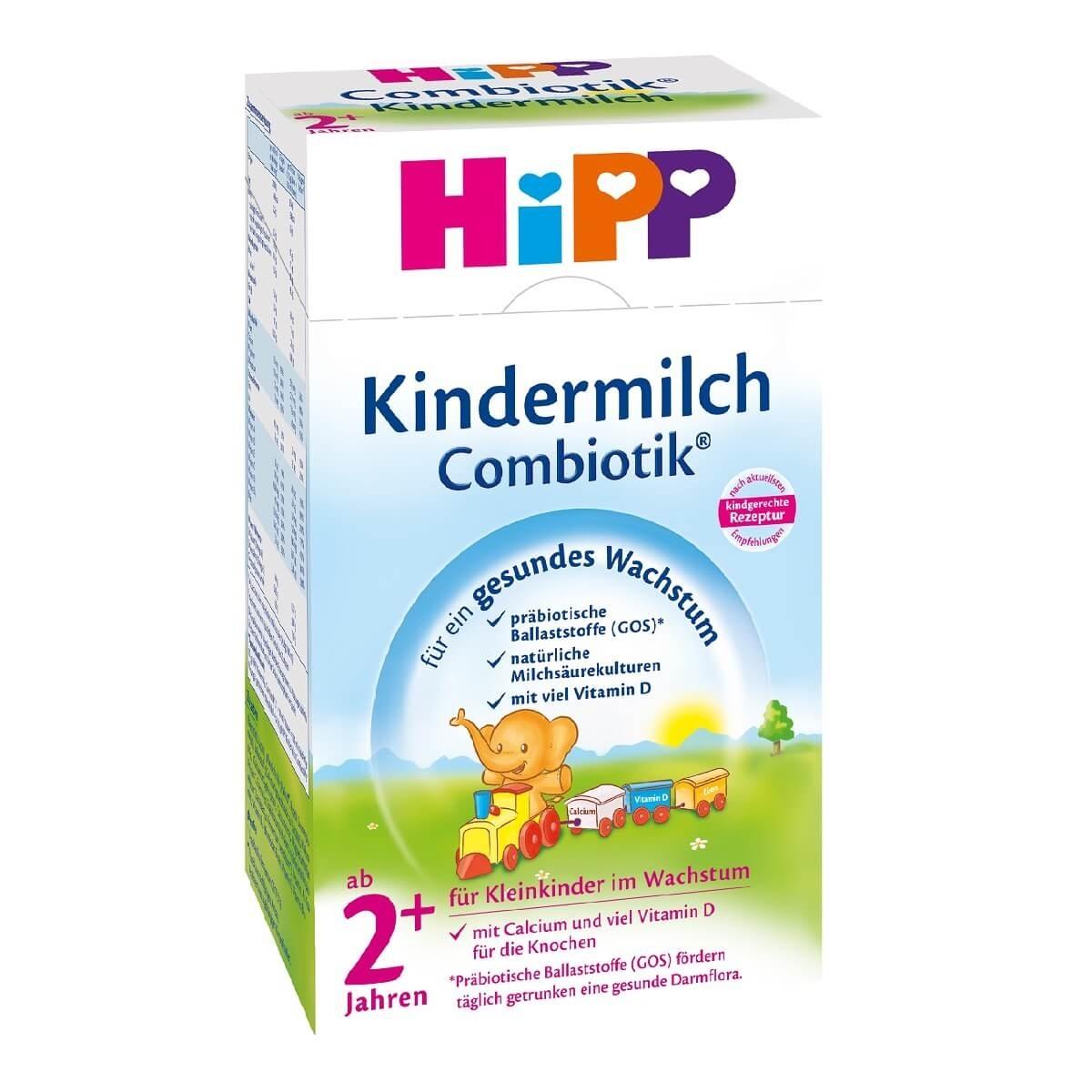 Lapte praf de crestere HiPP Combiotic 2+, 600g imagine 2021