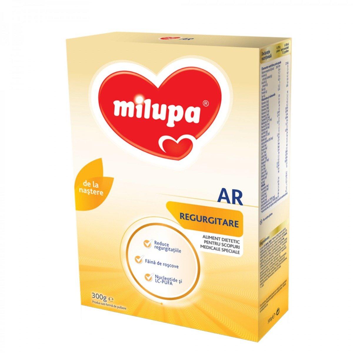 Lapte praf de inceput Milupa Milumil 1 AR, 300g imagine
