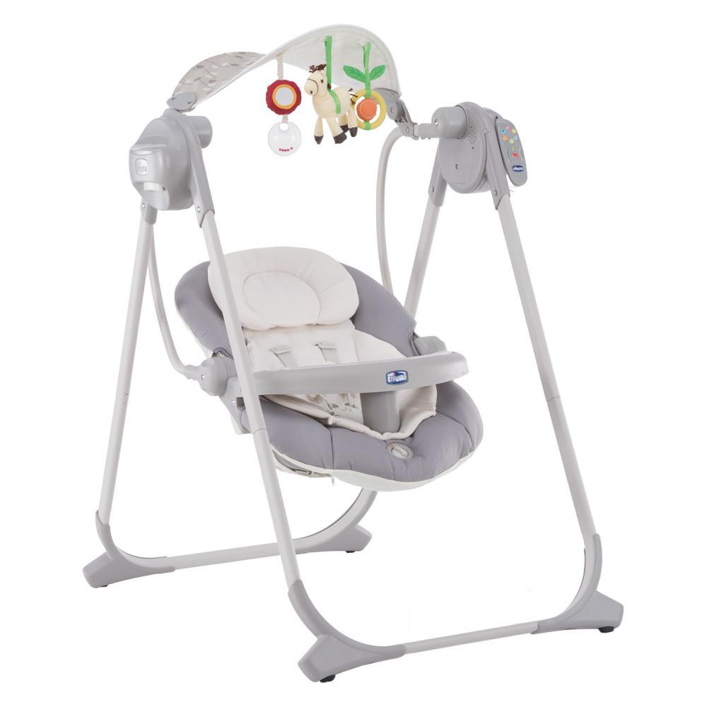 Leagan-balansoar cu vibratii pentru bebelusi Chicco, Polly, 0 luni+ imagine