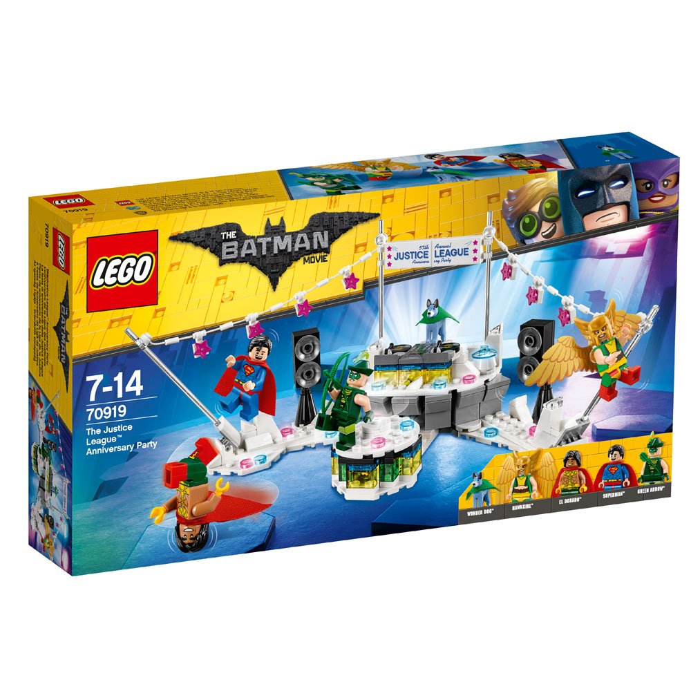 lego® batman aniversarea justice league (70919)