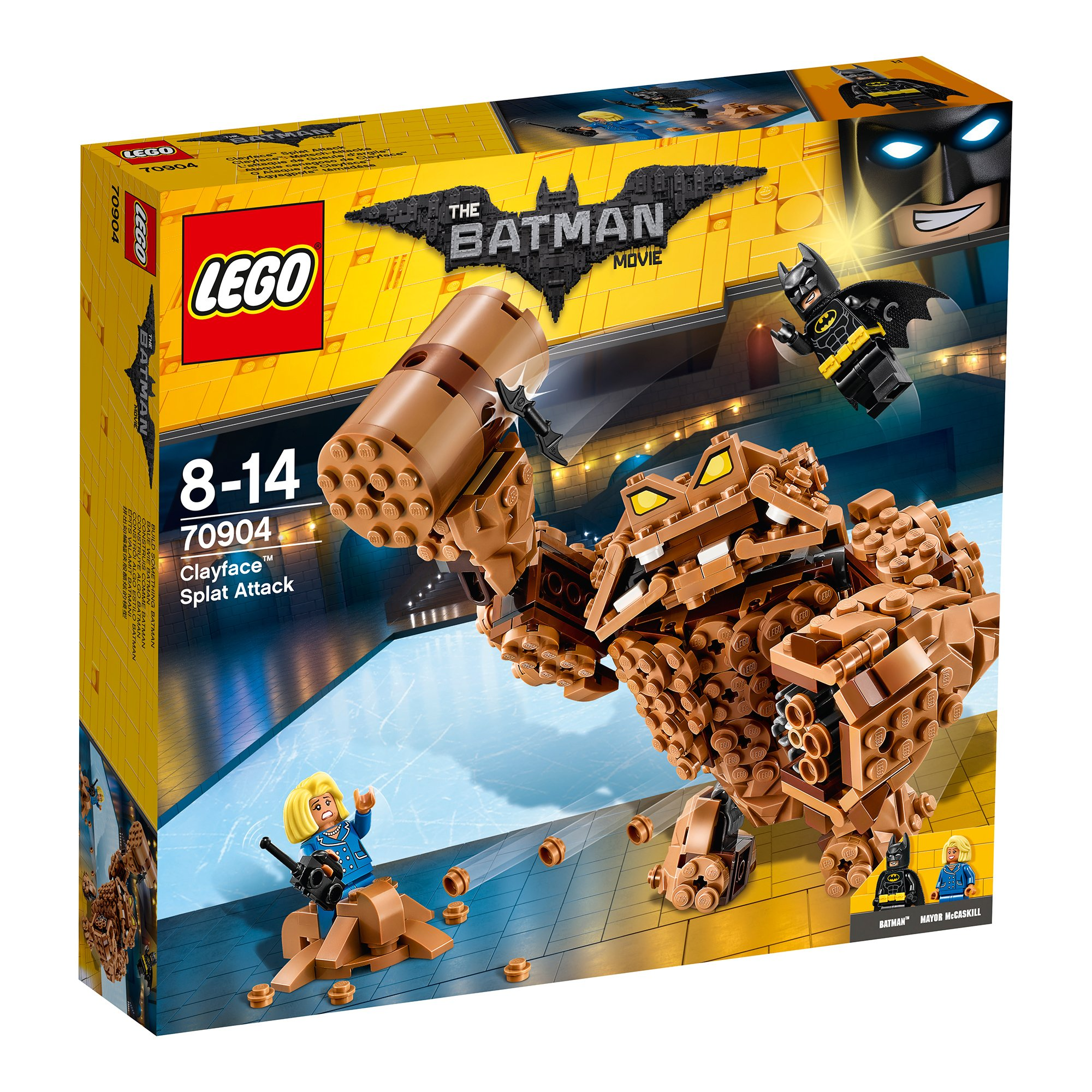 lego® batman movie 70904 - atacul rasunator al lui clayface