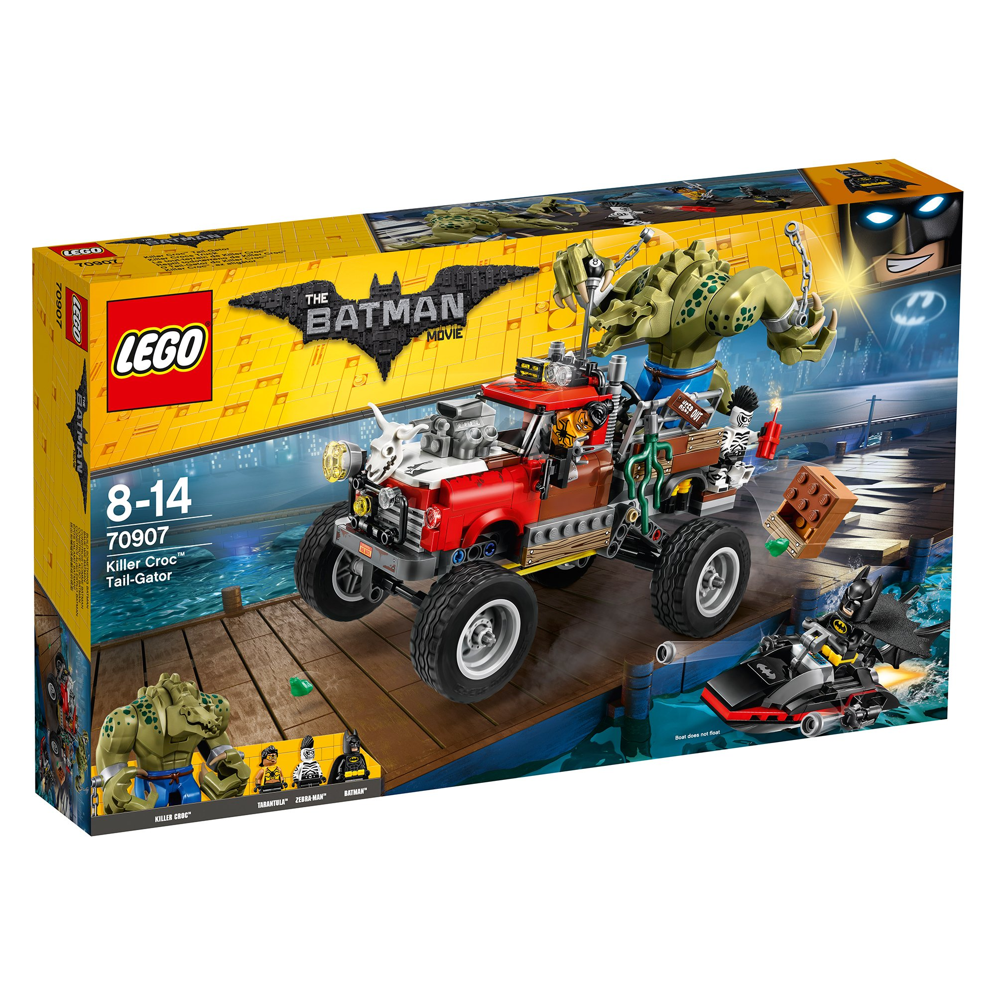 lego® batman movie 70907- masina lui killer croc