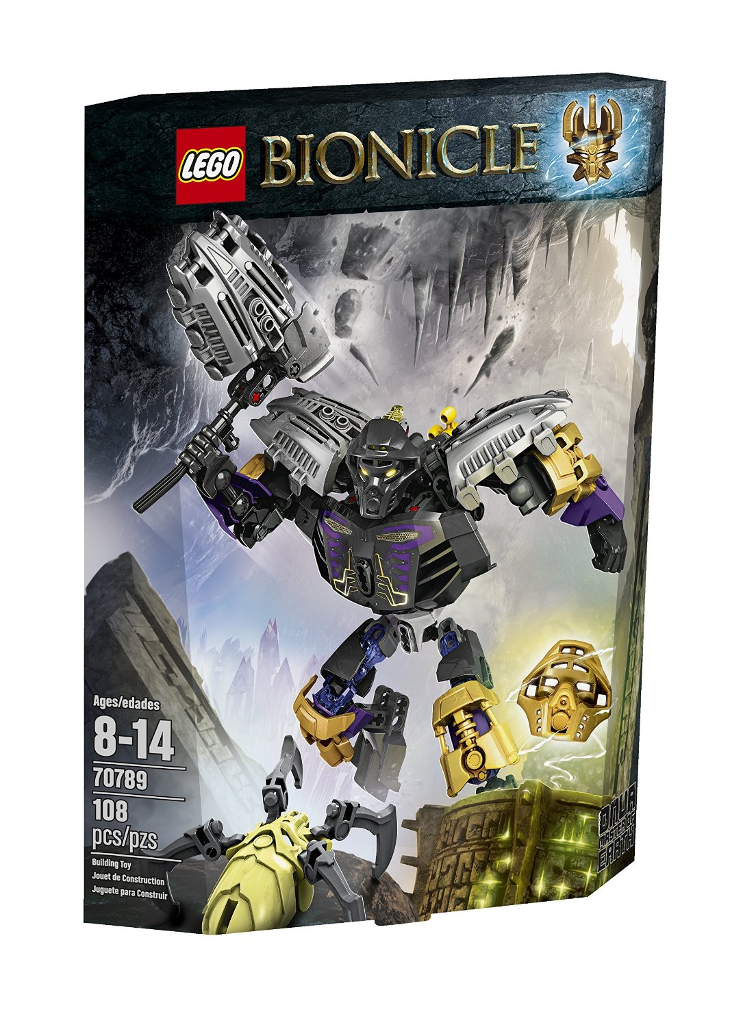 lego® bionicle - onua master of earth (70789)