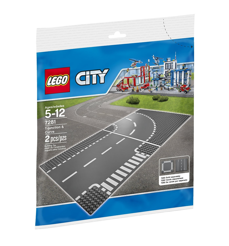 lego® city - intersectie si curba (7281)