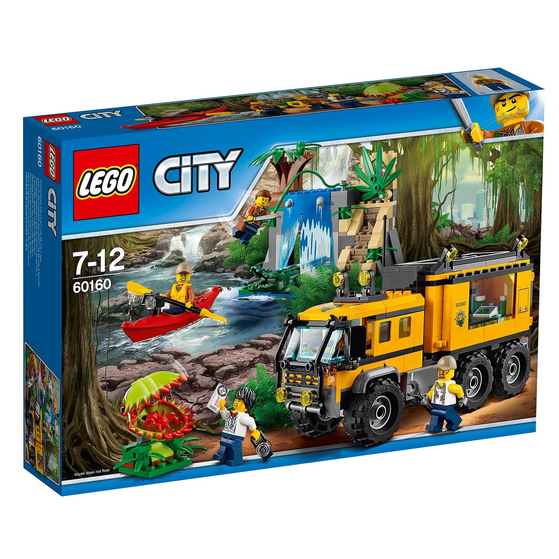 lego® city jungle explorers - laboratorul mobil din jungla (60160)