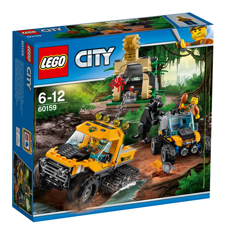 lego® city jungle explorers - misiune in jungla cu autoblindata (60159)