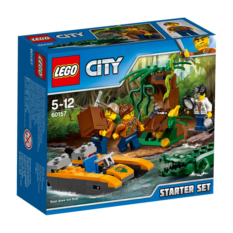 lego® city jungle explorers - set de jungla pentru incepatori (60157)