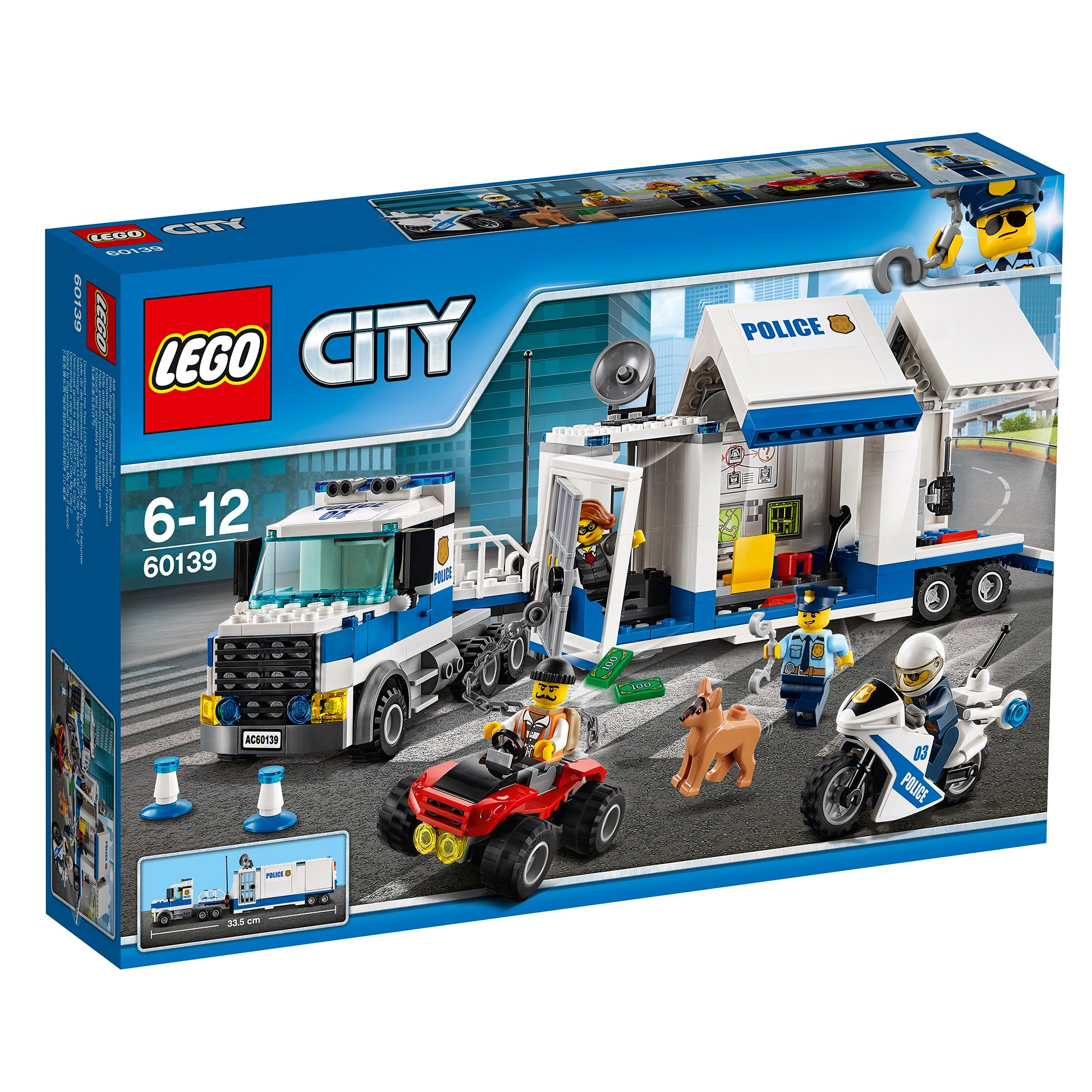 LEGO® City Police - Centru de comanda mobil (60139) imagine 2021