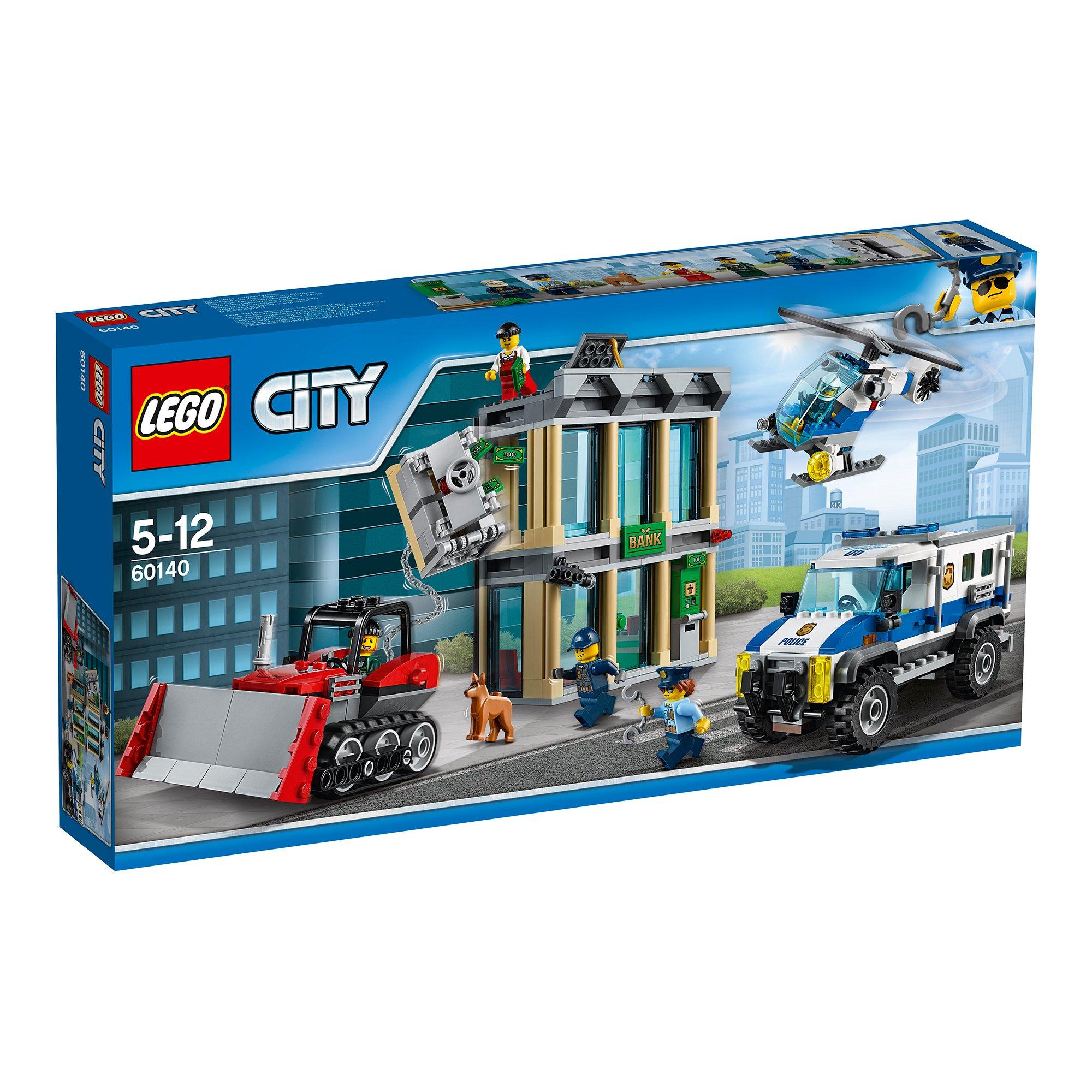 lego® city police - spargere cu buldozerul (60140)