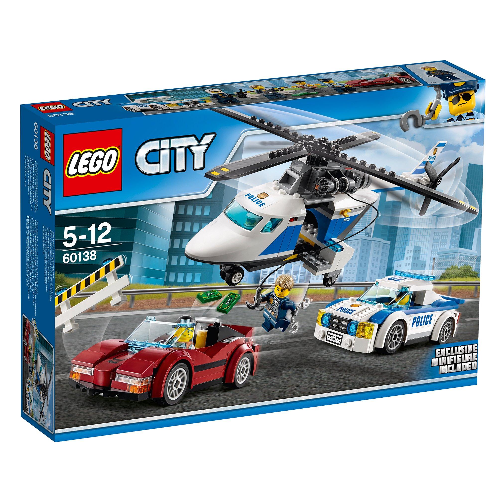 lego® city police - urmarire de mare viteza (60138)