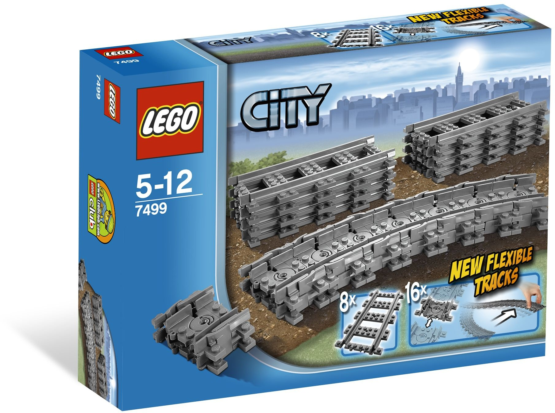 lego® city - sine flexibile (7499)