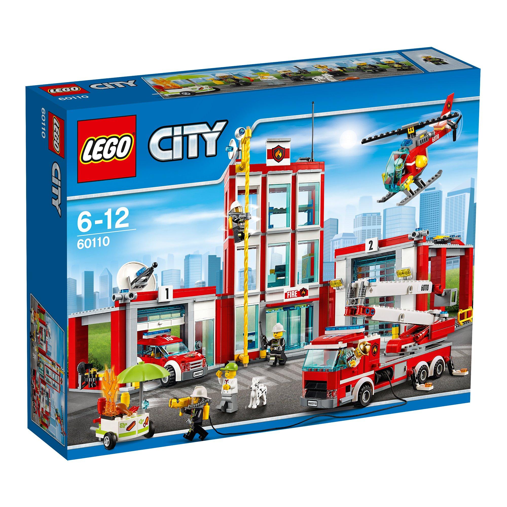 lego® city - statia de pompieri (60110)