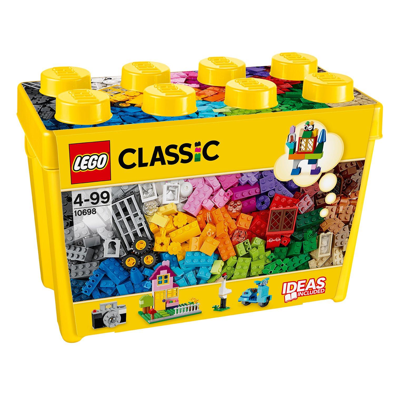lego® classic - cutie mare de constructie creativa (10698)
