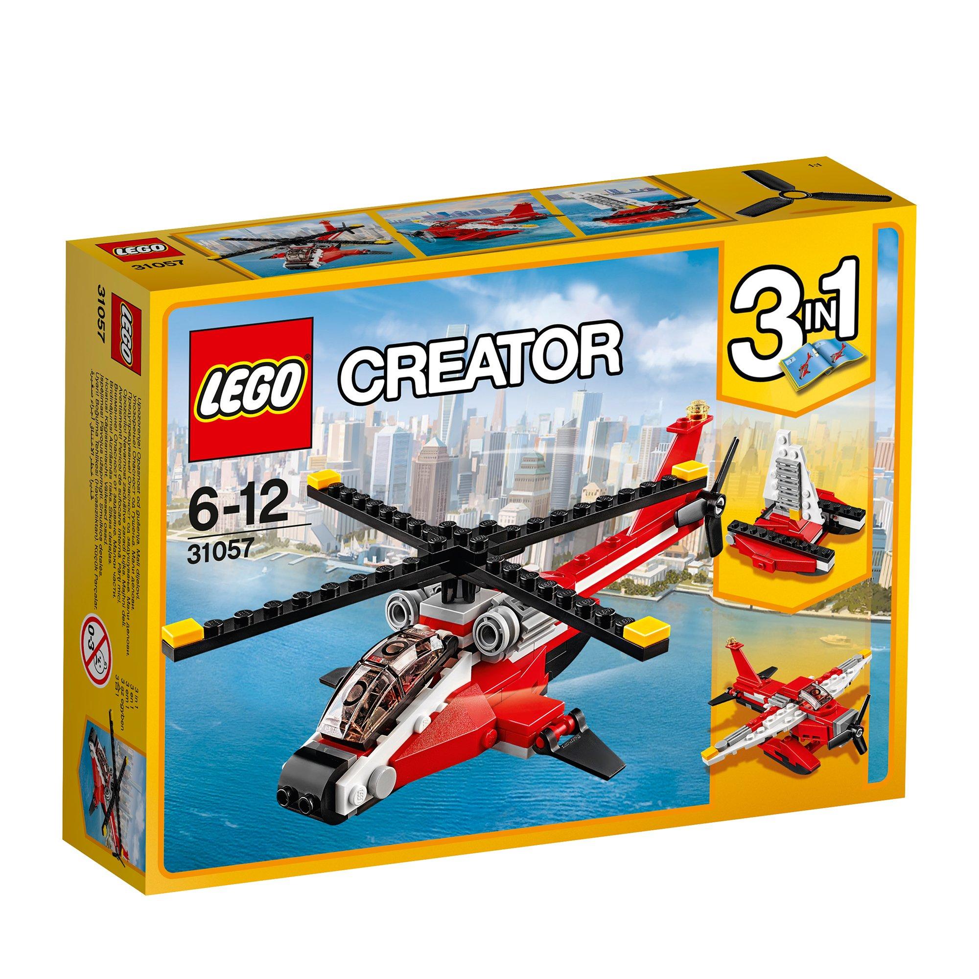 lego® creator - elicopter de lupta (31057)
