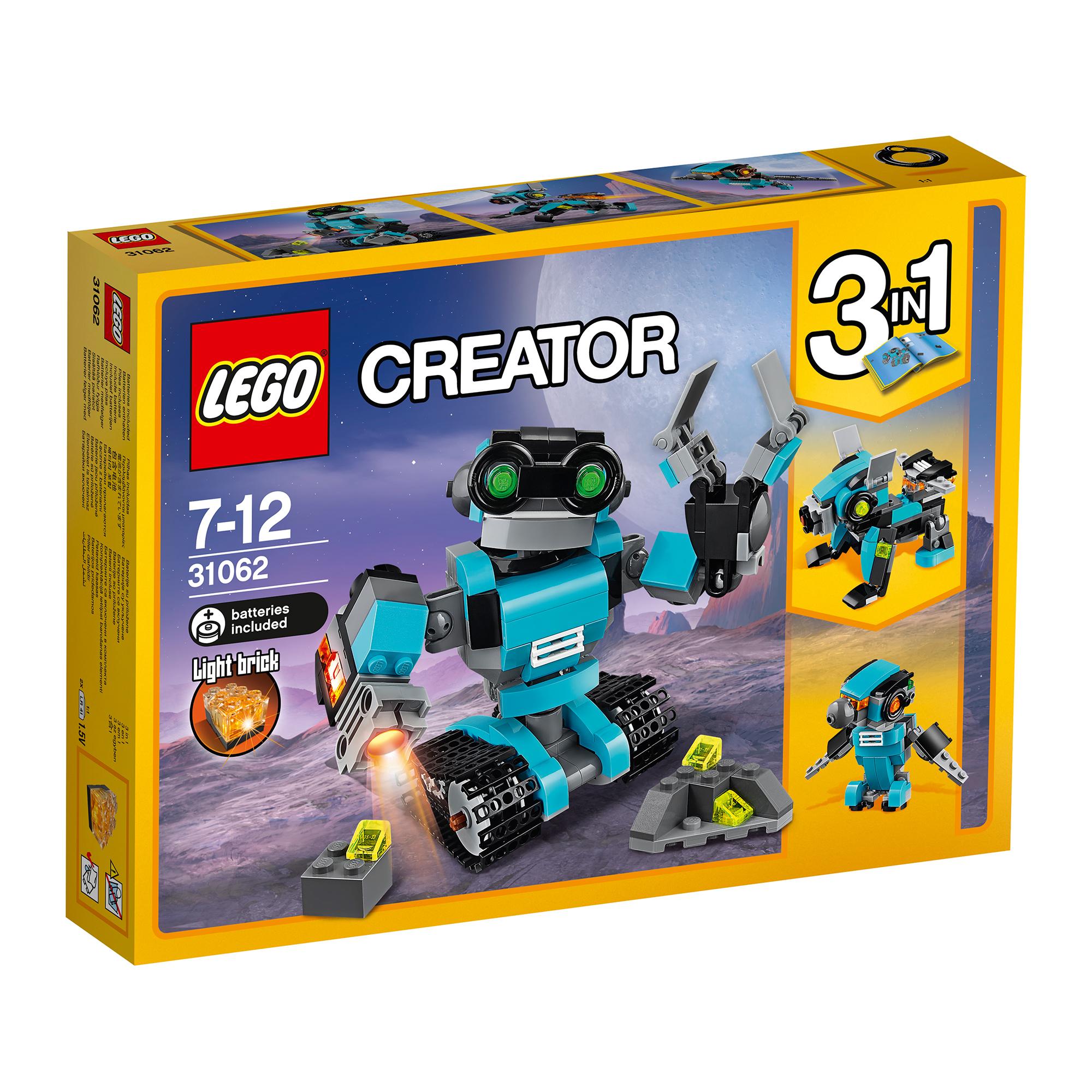 lego® creator - robot explorator (31062)